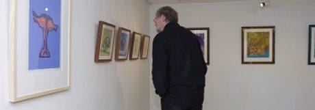 Zeefdrukken Moerman in Museum Maassluis