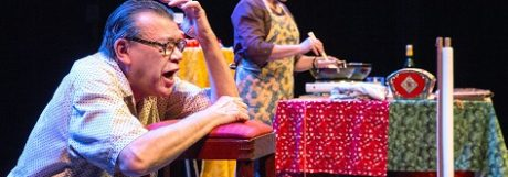 Koningshof: Theater en Indisch eten