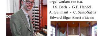 Orgelconcert Gert van Hoef