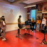 Kunstklas Lentiz gestart met lessen in Theater Koningshof