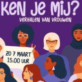 Internationale Vrouwendag 2021 – KEN JE MIJ?